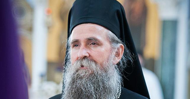 Na fotografiji je prikazan mitropolit crnogorsko-primorski: Joanikije Mićović