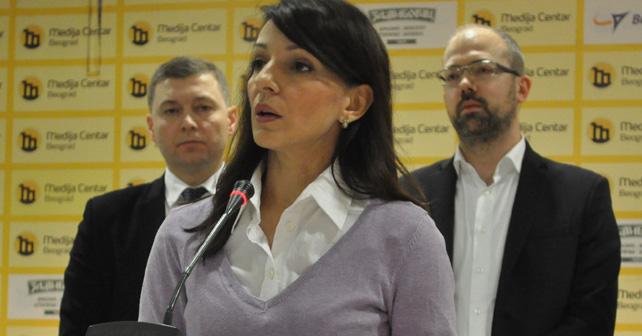 Na fotografiji je prikazan političarka: Marinika Tepić